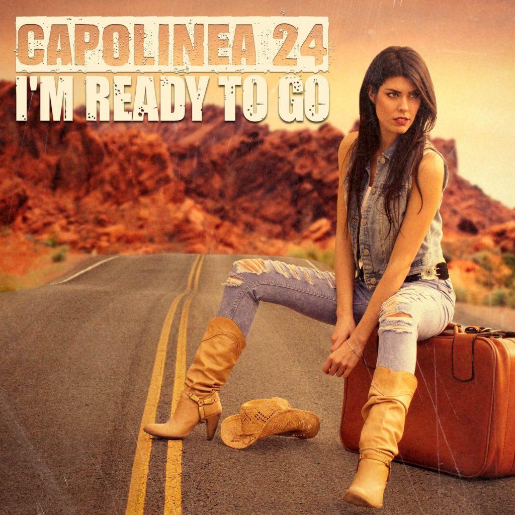 Erica Molinari cantante del duo rock Capolinea 24