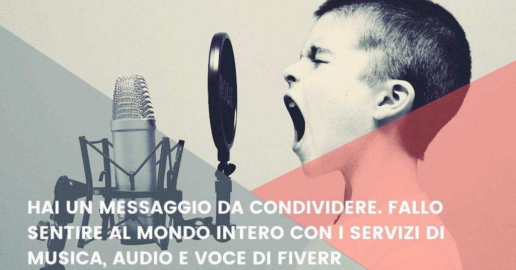 Fiverr - guida per guadagnare online vendendo servizi musicali