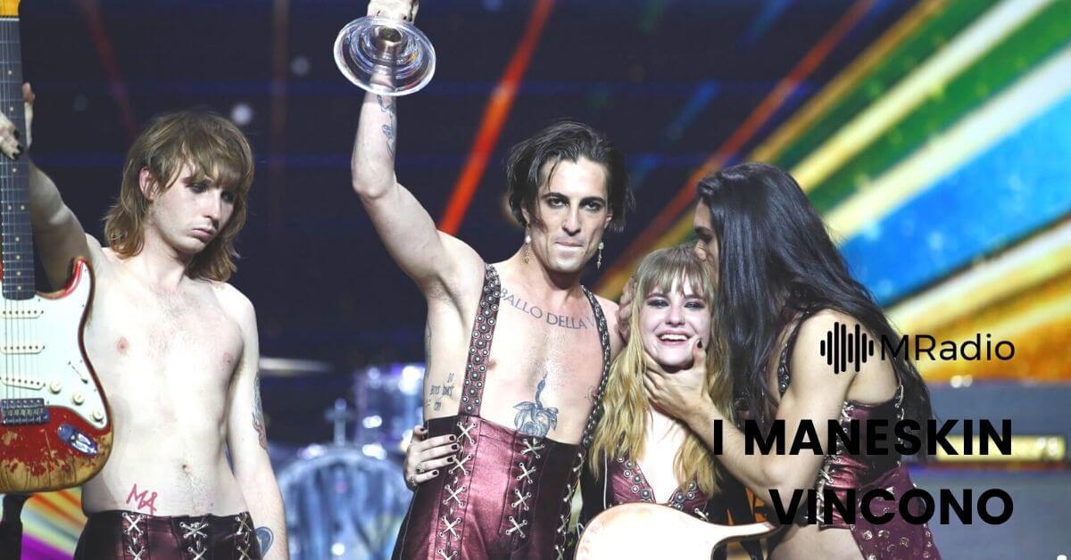 I Maneskin vincono l'Eurovision 2021 - leggi il testo di Zitti e Buoni, la canzone che ha trionfato